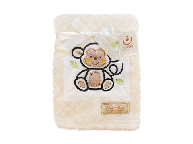 Dětská deka Bobobaby 76 x 102 cm