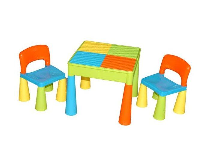 Dětský stoleček a židličky Tega Mamut-multicolor