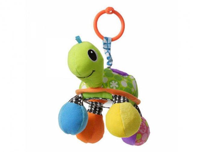 detska hracka na kocarek infantino zelva se zrcatkem
