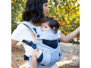 detske nositko ergobaby 360 cool air chambray