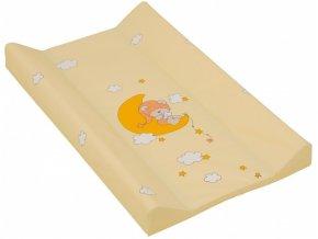 detska prebalovaci podlozka mekka scarlett zluta 70 x 50 cm