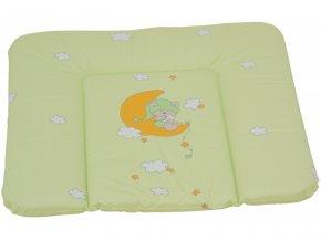 detska prebalovaci podlozka mekka ctvercova scarlett zelena 74 x 72 cm