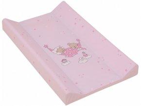 detska prebalovaci podlozka tvrda scarlett ruzova 80 x 50 cm