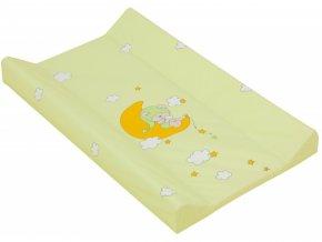 detska prebalovaci podlozka tvrda scarlett zelena 80 x 50 cm