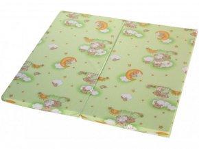 hraci matrace do detske ohradky scarlett klara zelena