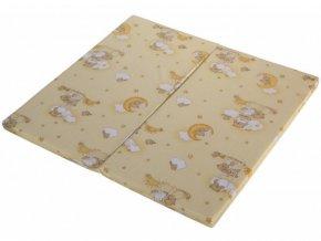 hraci matrace do detske ohradky scarlett klara bezova