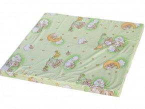 matrace scarlett mracek do ohradky scarlett bela zelena