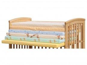detska matrace do postylky scarlett molitan 120 60 cm barevna