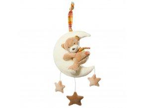 detska hracka na kocarek baby fehn rainbow hrajici medvidek
