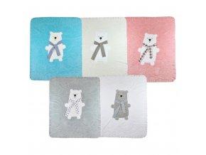 detska deka koala polar bear bezova 2