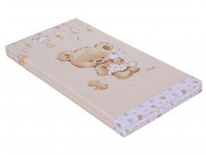 detska matrace do postylky scarlett grisi 120 x 60 cm bezova