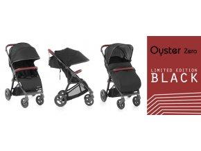 sportovni detsky kocarek oyster zero limited edition black