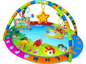 detska hraci deka sunbaby barevny svet