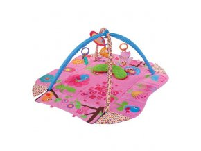 detska hraci deka sunbaby ruzovi sneci