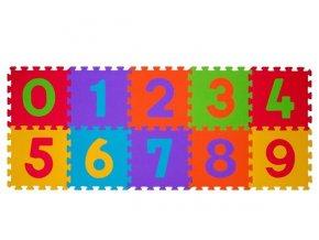 detske penove puzzle babyono cisla 10 kusu
