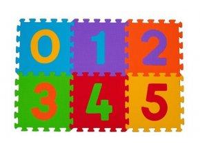 detske penove puzzle babyono cisla 6 kusu