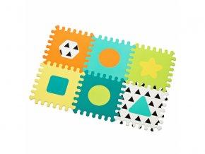 detske penove puzzle infantino tvary 6 kusu