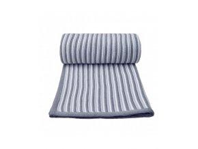 detska pletena deka t tomi 80 x 100 cm bilo seda