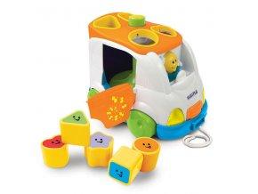 Dětská edukační hračka Weina Vkládačka auto