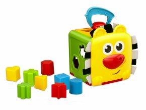 detska edukacni hracka b kids dzungle vkladaci kostka