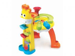 detska edukacni hracka b kids hudebni pult giraffes fun station