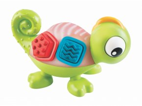 detska edukacni hracka b kids senzoricky svitici chameleon