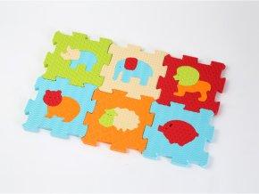 detske penove puzzle ludi zviratka