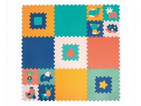 detske penove puzzle ludi zviratka 90 x 90 cm
