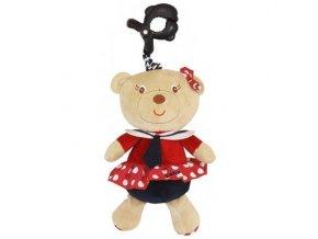 detska hracka na kocarek baby mix s melodii medvedice namornice