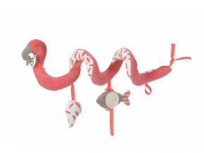 detska hracka na postylku kikadu spirala plamenak