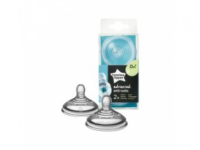detska savicka tomme tippee advanced anti colic slow flow 0 2 kusy
