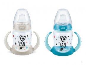 detska lahev na uceni nuk fotbal + 6 mesicu 150 ml modra 2
