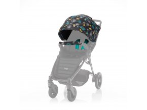 barevny set ke kocarku britax b agile plus b motion plus limited butterfly flowers