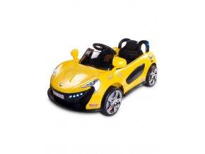 detske elektricke auto toyz aero zluta