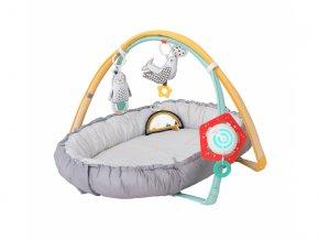 detska hraci deka hnizdo taf toys s hudbou a hrazdou pro novorozence