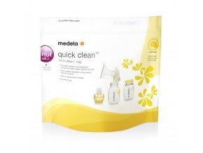 sterilizacni sacky medela quick clean 20 kusu