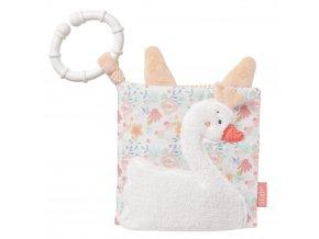 detska hracka na kocarek baby fehn knizka swan lake