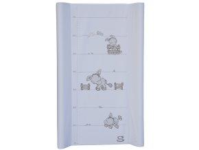 detska prebalovaci podlozka tvrda scarlett oslik 70 x 50 cm bila