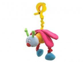 detska hracka na kocarek taf toys vibrujici ulicnici ruzova