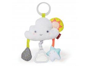 detska hracka na kocarek skip hop silver lining cloud mracek