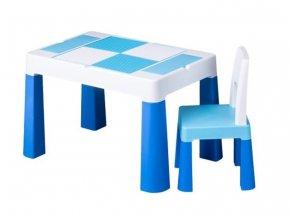 detsky stolecek a zidlicka tega multifun blue
