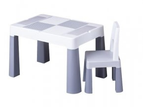 detsky stolecek a zidlicka tega multifun grey