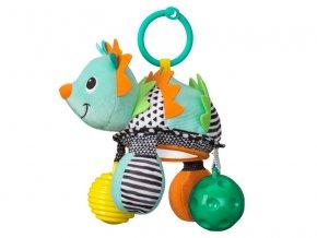 detska hracka na kocarek infantino jezek se zrcatkem a micky