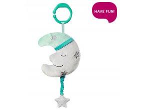 detska hracka na kocarek babyono s melodii happy moon
