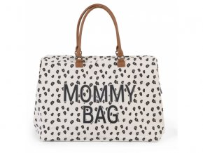prebalovaci taska childhome mommy bag canvas leopard
