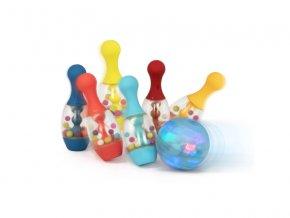 detska edukacni hracka b toys bowling se svitici kouli