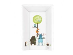 detska prebalovaci podlozka tvrda trojhranna ceba animals 50 x 70 cm