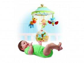 detsky kolotoc nad postylku tiny love hudebni s lampickou a projekci na strop 3 v 1 4