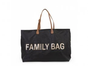 cestovni prebalovaci taska childhome family bag black