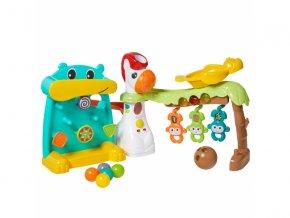 detska edukacni hracka infantino hraci pult s micky grow with me 4 v 1